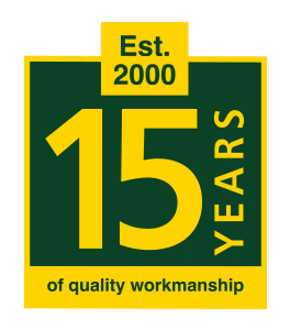 15 Years of Quality Workmanship