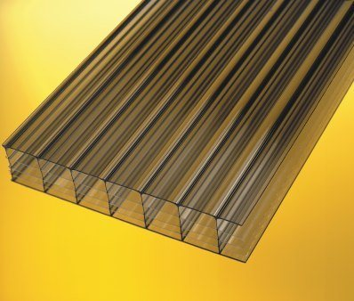 Bronze Multiwall Polycarbonate