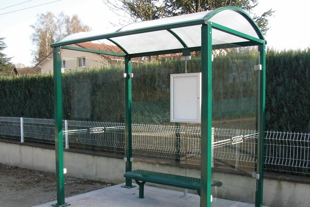 Hemlock Bus Shelter