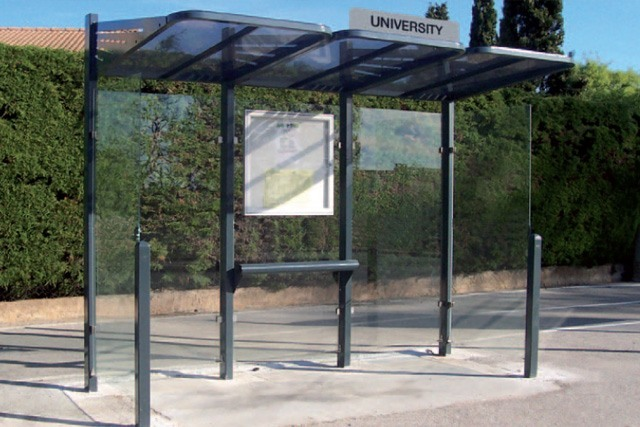 Ironwood Bus Shelter